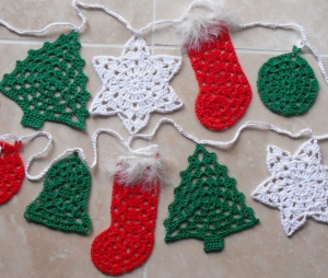 Festive Bunting - Granny Style