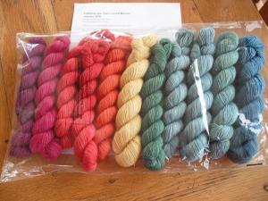 Kaleidoscope - Godiva yarn quarter 1