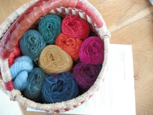Kaleidoscope - a basket of cakes quarter 1