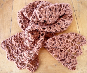 January Crochet Scarf