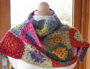 February Crochet Scarf