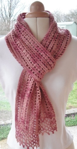 March Crochet Scarf