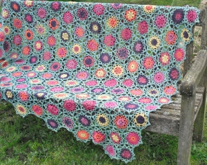Summer Garden Throw