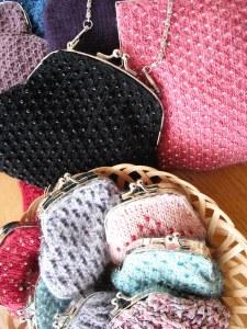 Precious purses, beaded bags