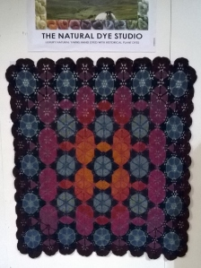 Supernova - one of Amanda Perkins' splendid crochet blanket designs