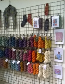 Gorgeous yarn at The Natural Dye Studio