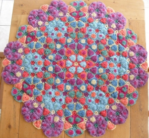 May Kaleidoscope - just getting a little big to photograph on the table