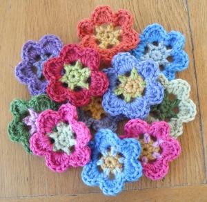Anniversary Crochet Flower