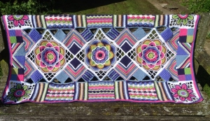 Janie Crowfoot Blanket