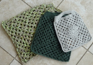 Granny style bags