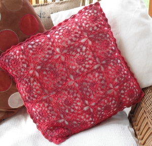 Fresh Red cushion