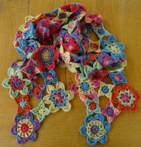 August Crochet Scarf