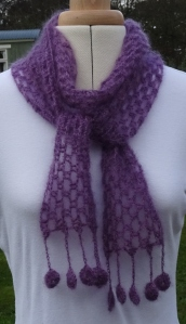 Simple Kidsilk Scarf