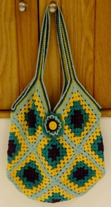 At the end of 3 weeks you should have a lovely bag like this