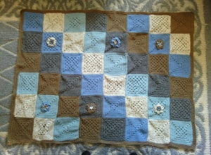 Charita's blanket