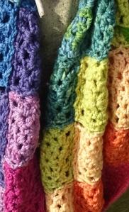 Luscious rainbow colours