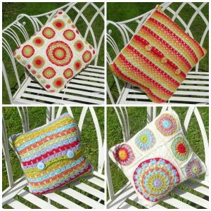 Anniversary mandala cushion