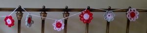 Mini flower bunting