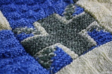 Woolsack detail